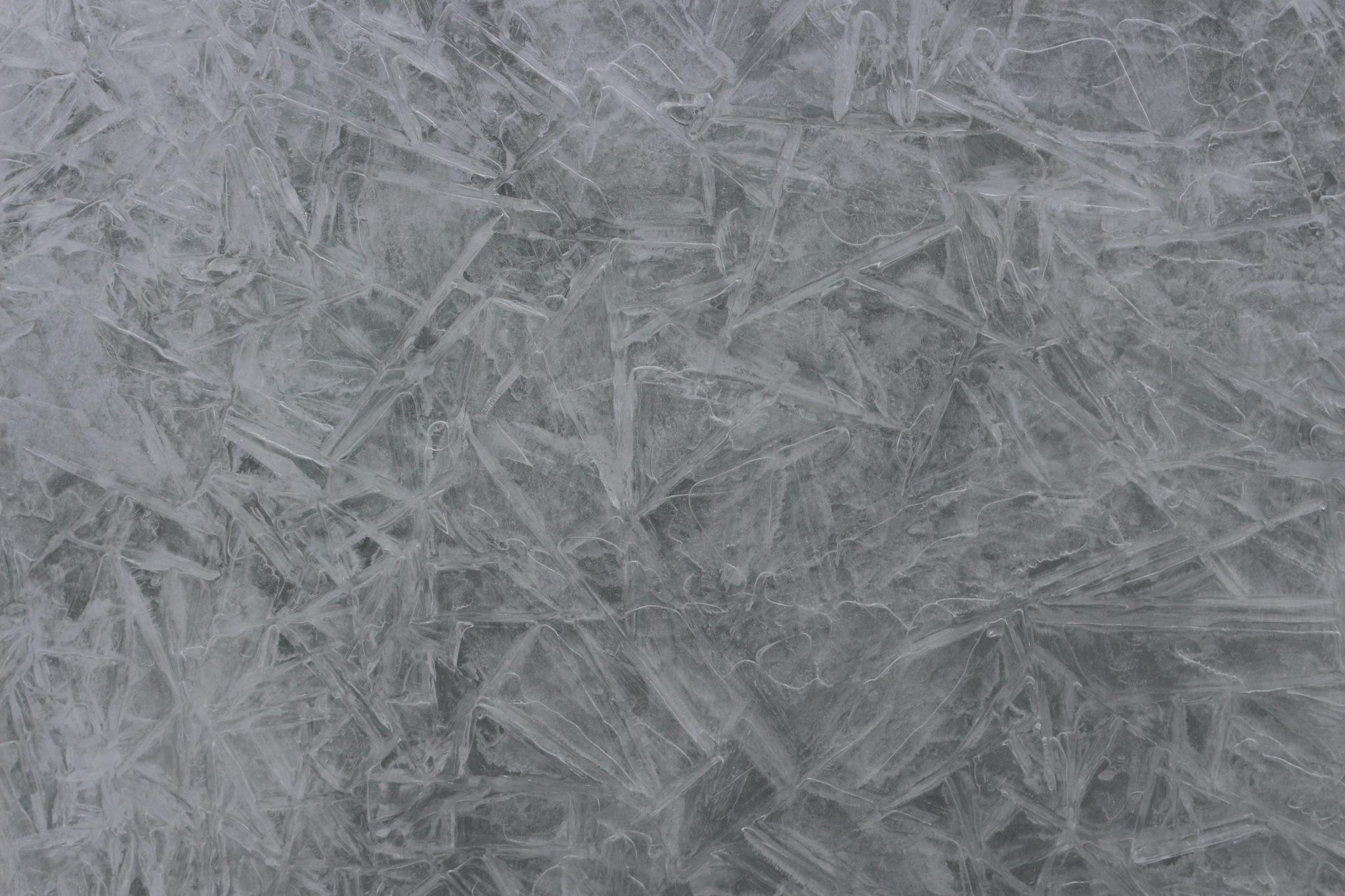 crystallized Water - Zanskar river